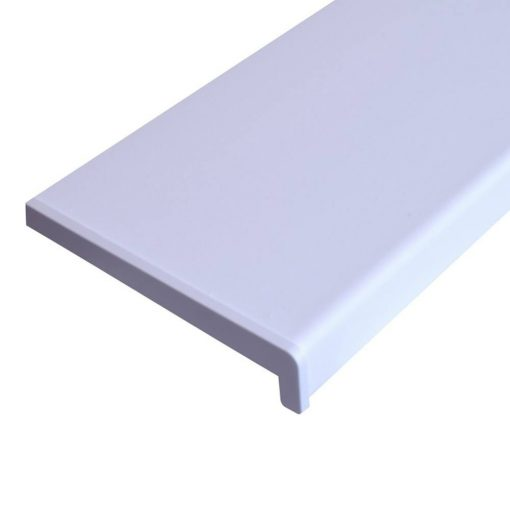 Ablakpárkány,  fehér, 300 x 25 x 2 cm