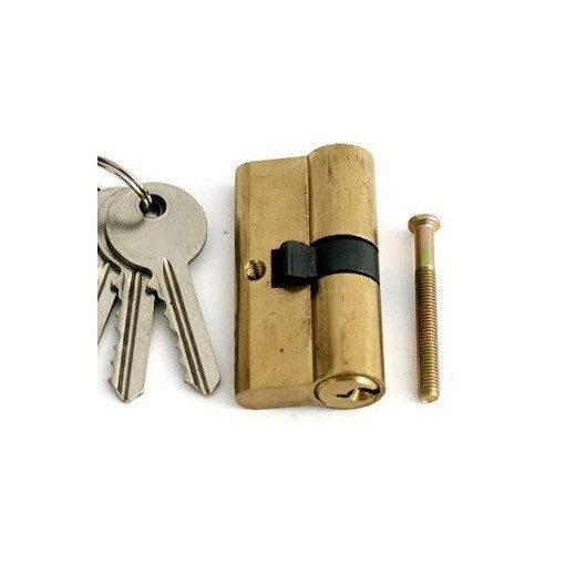 Cilinderbetét 65mm 2 kulcsos