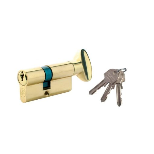 Ajtózár, 3 kulcsos, 35 x 35 mm