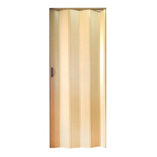 harmonika ajtó, tölgy fa színű, 203x85cm