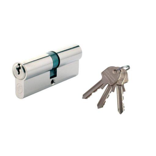 Biztonsági zár 3 kulcs, L90 45 x 45 mm