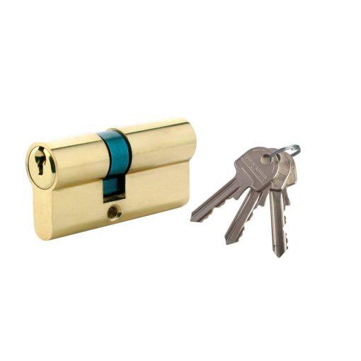 Biztonsági zár 3 kulcs, L70 30 x 40 mm