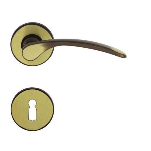 Ajtókilincs 50mm Verofer Vienetta Bronz