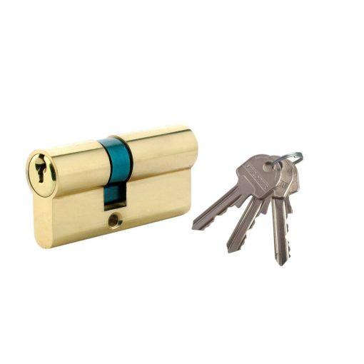 Biztonsági zár , 3 kulcs, L60 25 x 35 mm