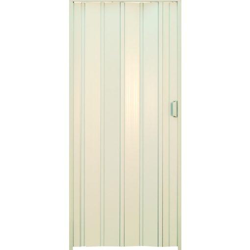 Harmónika ajtó, fehér, 203 x 85 cm