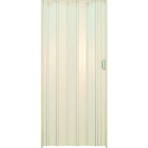 Harmónika ajtó, fehér, 203 x 100 cm