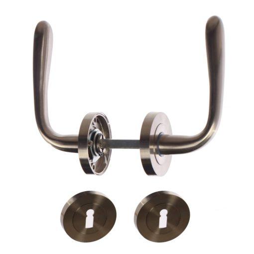 Anda Gato beltéri ajtókhoz, nikkel-szatén, 130 x 55 mm