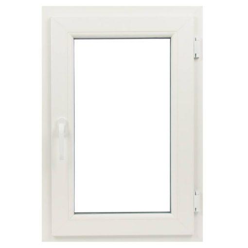 Műanyag ablak fehér 86x116cm 5 kamrás Nyíló