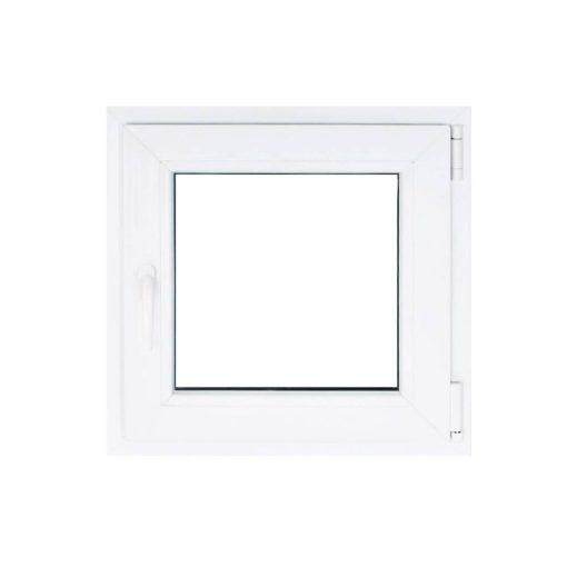 Műanyag ablak fehér 56x56cm 5 kamrás Nyíló