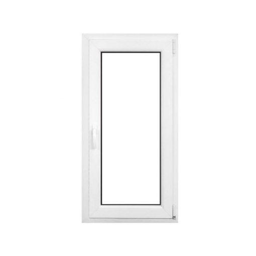 Műanyag ablak fehér 56x86cm 6 kamrás Nyíló