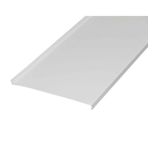 Külső alumínium ablakpárkány, fehér , 35 x 300 x 0,13 cm