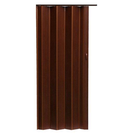 Harmónika ajtó, 203x84cm, Pioneer P218,  Mahagóni