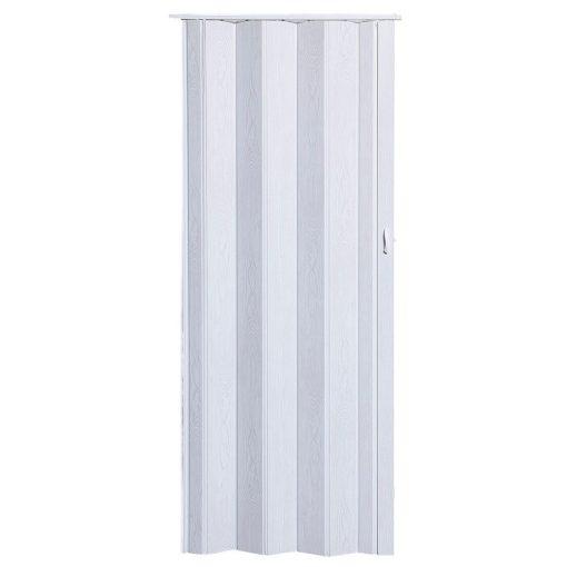 Harmónika ajtó, Pioneer P281, fehér tölgy, 203 x 84 cm