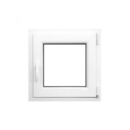 Műanyag ablak fehér 56x56cm 7 kamrás Nyíló