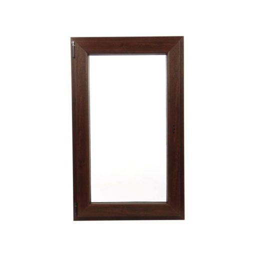 Műanyag ablak barna 56x86cm 7 kamrás Nyíló