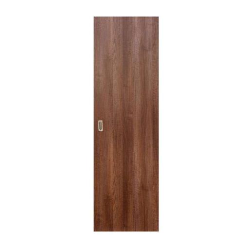 Tolóajtó Eco Euro Doors , diófa mintával, 95 x 206 cm + süllyesztett fogantyú