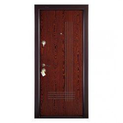 Fém bejárati ajtó 200x88cm Prestige 1 lux 41 Wenge