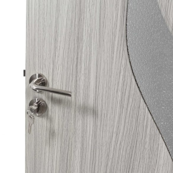 Beltéri ajtó, B03-78-N, szürke, 203 x 78 cm